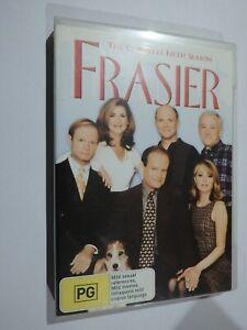 Frasier The Complete Fifth Season (Season 5) 4 Disc Set DVD TV Show ACCEPTABLE