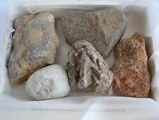 ORIGINAL 5 stones from ISRAEL for Grave - Jerusalen Golan Tel Jarisa & Mearot