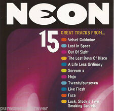V/A - Neon Presents.. 15 Great Movie Tracks (UK 15 Tk CD Album) (Neon Magazine)
