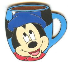 """WDW Spotlight Mug Collection Sorcerer Apprentice """"Mickey Mouse"""" Pin!"""