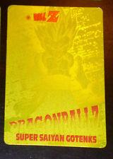 DRAGON BALL Z DBZ AMADA PP PART 26 CARDDASS CARD PRISM CARTE 1180 GOLD JAPAN **