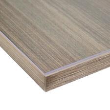 Tischdecke Tischfolie verschiedene Größen 2mm dick transparent oder mattiert 110 Cm X 110 Cm transparent
