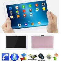 10 inch PC Tablet HD 3G WiFi Otca-Core Android 4.4 1+16GB GPS Dual SIM Camera MF