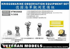 Veteran Models 1/350 Kriegsmarine Observation Equipment Set