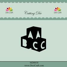 Dixi Crafts Cutting Die  ABC BRICKS DCMD0038