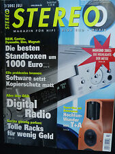 STEREO 7/02 T+A TCI 1 RE,B&W DM 603 S3,DYNAUDIO AUD. 122,ELAC 207,CANTON ERGO 70