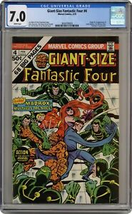 Giant Size Fantastic Four #4 CGC 7.0 1975 3834709003 1st app. Madrox