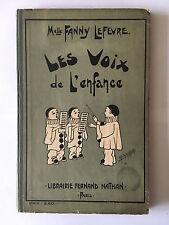 VOIX DE L'ENFANCE 80 CHANTS ECOLES MATERNELLES PRIMAIRES LEFEVRE PARTITION CHANT