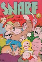 Snarf No.1 Kitchen Sink First Print 1972 Underground Comic 030518DBC