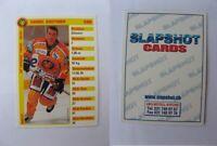 2000-01 Slapshot cards Gauthier Daniel  mini  sc langnau tigers SWITZERLAND