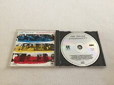 THE POLICE - SYNCHRONICITY EARLY WEST GERMANY TARGET ERA CD STING A&M