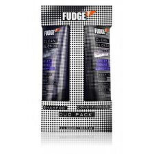 FUDGE CLEAN BLONDE VIOLET TONING SHAMPOO & CONDITIONER DUO PACK 2 X 300ML