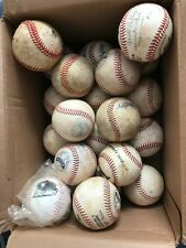 Lot of 22 Baseballs 21 Used 1 New