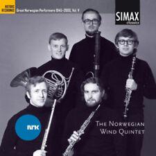 The Norwegian Wind Quintet : Great Norwegian Composers, 1945-2000 - Volume 5 CD