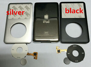 front+back housing case clickwheel  button for ipod classic 6th  80gb
