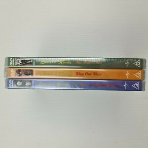 3x Laurel & Hardy DVDs - The Music Box - Way Out Wear - Be Big Laughing Gravy