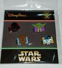 Disney Pins Star Wars 4 pin Booster Trading Pin Set  NEW