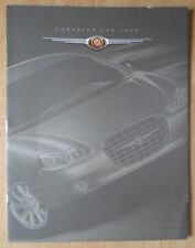 CHRYSLER LHS orig 1999 sales brochure for Canada