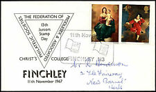 GB 1967, 13th Juniors Stamp Day, Finchley H/S Cover #C21718