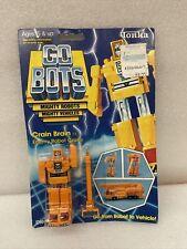 Vintage sealed 1984 Tonka Gobots Crain Brain Enemy Robot Crane Transformer