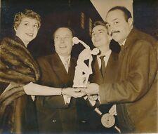 J. François, J. Constantin, C. Véga, P. Hiegel 1955 - Prix  Discobole - PR 880