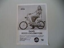 advertising Pubblicità 1979 GARELLI NOI 50