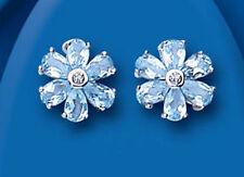 Topaz Butterfly Unbranded Sterling Silver Fine Earrings