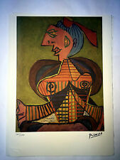 Picasso Litografia 38.5 x 28.5 cm Firma Fondazione Timbro Spadem 250 ex. ART034