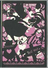 Disney Alice in wonderland 2017 schedule book planner silhouette B6 DZ-77724