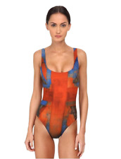 VIVIENNE WESTWOOD PROPAGANDA ANGLOMANIA ONE PIECE SWIMSUIT RED SMALL $300