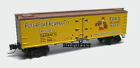 Fox Brewing 40' Wood Reefer Peter Fox Brewing MTL #518 00 290 Z Scale