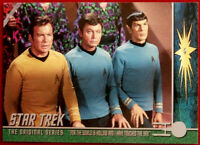 STAR TREK TOS - Card #199 - WORLD IS HOLLOW - DO YOU FIND ME ATTRACTIVE? - 1999