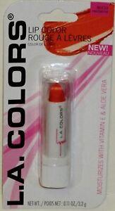 L.A. COLORS Hydrating Lipstick w Vitamin E & Aloe BLC13 NECTARINE .11 oz. NEW!