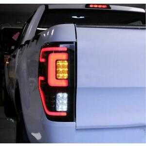 Tail Light Rear Lamp LED Smoke Fit Ford Ranger Raptor T6 T7 PX MK XLT 2012-19