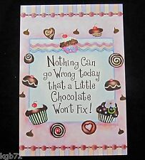 Leanin Tree Thinking Of You Blank Chocolate Greeting Card Multi Color R160