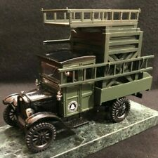 Diecast 1927 Ford Tower Truck On a Green Marble Base With An AT&T Pen Holder
