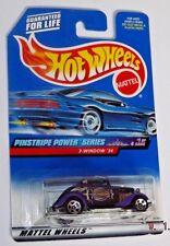1999 Hot Wheels #953 Pinstripe Power Series #1 of 4 (purple) 3-WINDOW '34 ~ UU4