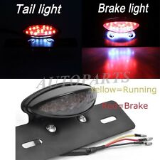 Motorcycle Rear Tail Brake/License Plate light for Chopper Cruiser Atvs NEW USPS