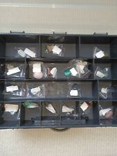 23 PIECE ROCK, STONE AND MINERALS COLLECTION IN PRESENTATION BOX