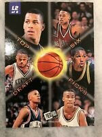 1996 Press Pass Lotto Marcus Camby L2 Ft. Tops 6 Picks on Back Odds 1:360 Packs