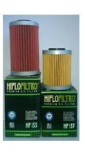 KTM 250 400 450 520 525 1st 2nd HiFlo Oil Filter Set Long & Short HF155 HF157