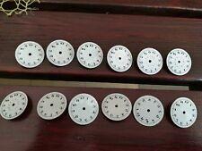 porcelain dials Vintage 12 pcs