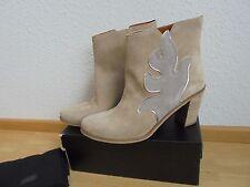 * Hugo Boss Wildleder Stiefeletten NP 379€ w NEU Ankle Boots Stiefel Gr. 41
