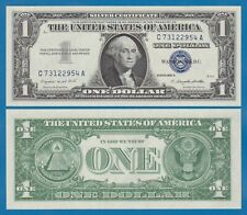 United States 1 1957 A Silver Certificate Blue Seal Unc Usa Fr 1620 Pre C Suf A