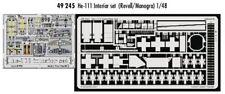 Eduard 1/48 Heinkel He 111 interior conjunto pre-pintado en color! #
