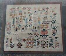 Garden Spot Reproduction Sampler - Samplers and Such