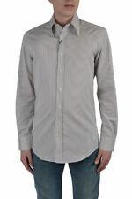 "Dolce & Gabbana ""Slim Fit"" Men's Multi-Color Striped Dress Shirts US 15.75 16.5"