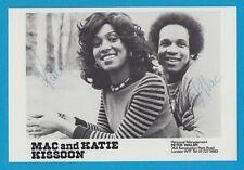 Mac and Katie Kissoon - britisches Pop- und Soul-Duo - # 14242