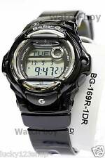 BG-169R-1D Black Digital Casio Baby-G Watches Lady Resin Band Full Packy