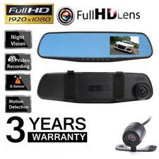 Car Dash Camera Dual Cam Vehicle Front DVR Lens Video Recorder HD 1080P uno